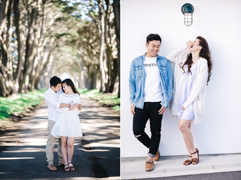 engagement images with slippers